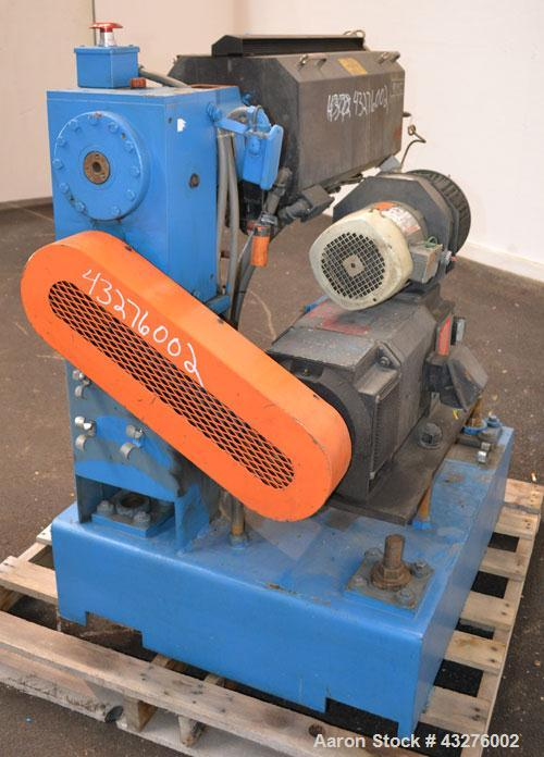 "Used- Merritt Davis 1-1/2"" Single Screw, Model A/C MX. Approximate 24 to 1 L/D ratio. Electrically heated, air cooled 4 zone..."