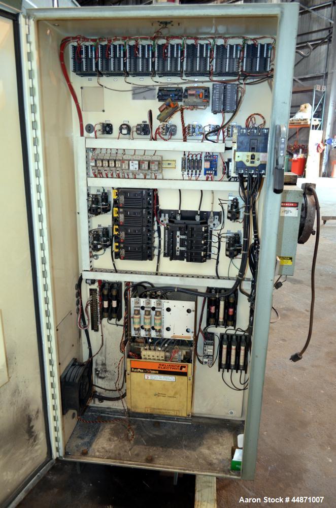 "Used- NRM Pacemaker IV 2-1/2"" Single Screw Extruder, Model 2.5-24.1-PMIV-RH/AC-N"