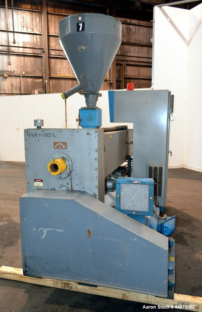 "Used- NRM Pacemaker IV 3-1/2"" Single Screw Extruder, Model 3.5-24.1-PMIV-RH-NV-A"