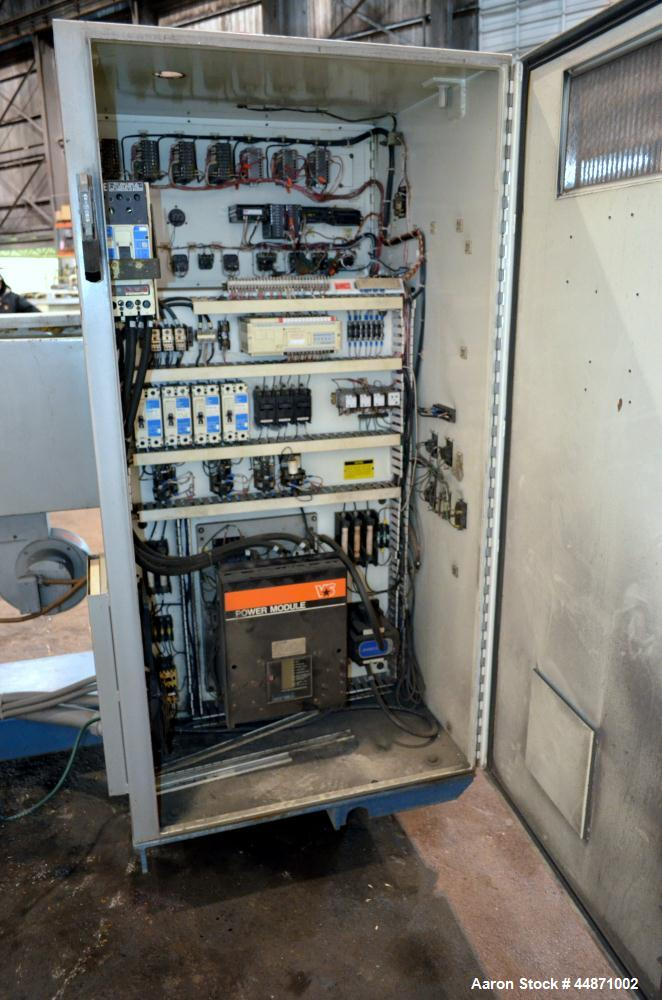 "Used- NRM Pacemaker IV 3-1/2"" Single Screw Extruder, Model 3.5-24.1-PMIV-RH-NV-A"