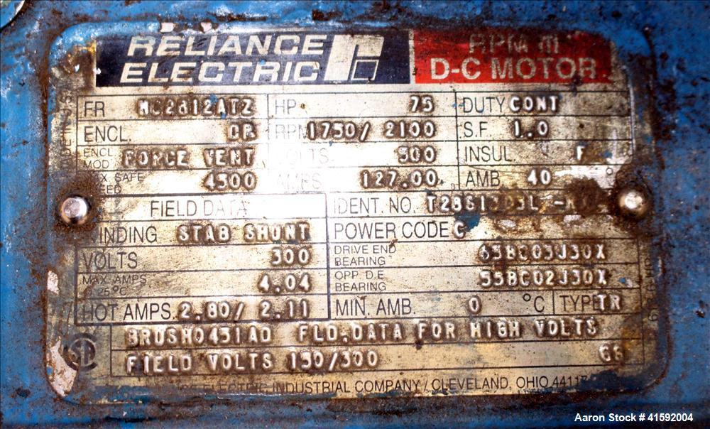 "Used- NRM/Davis Standard 3-1/2"" Single Screw Extruder, Model Pacemaker III 35PMI"