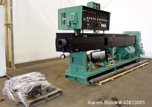 "Used- NRM Pacemaker 6"" Single Screw Extruder, Model 6 PM III. 32 to 1 L/D Ratio. Electrically heated, water cooled 7 zone si..."