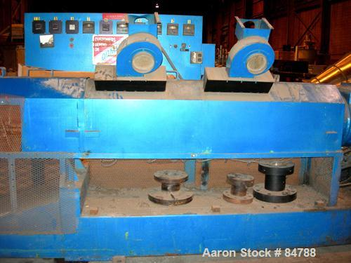 """USED- NRM 6"""" Single Screw Extruder, Model 6, Approximate 30:1 L/D Ratio. Electrically heated, air cooled 7 zone top vented b..."""
