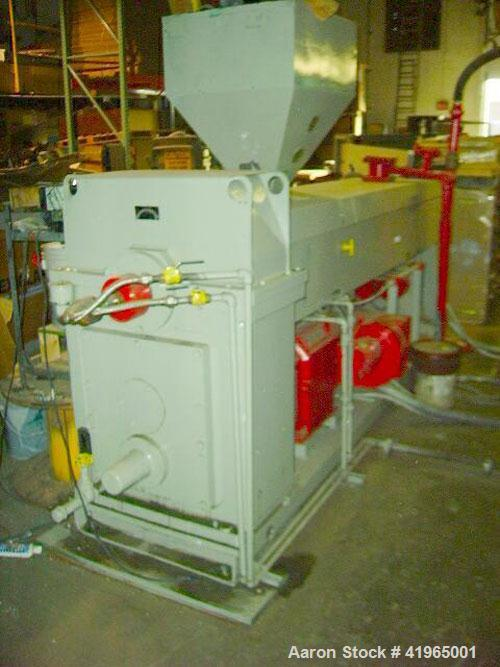 "Used-NRM Pacemaker 70 Extruder, 4.5"", 24:1, ratio 17.42:1. Reliance matched motor, Fincor 3120M drive, 480 volt, 400 amps, v..."