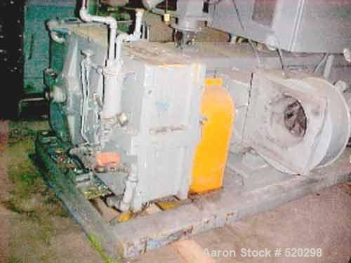 "USED: NRM Pacemaker III 4.5"" lowboy extruder. Machine has a 24:1 L/Dratio and electrically heated, water cooled (closed loop..."