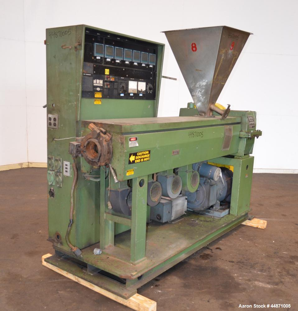"Used- NRM Pacemaker III 2-1/2"" Single Screw Extruder, Model 2.5-PMIIII-24.1"