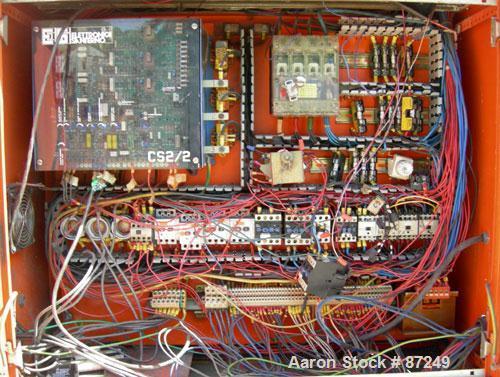 "Used- Plastiprogram 1.3"" Single Screw Extruder, Model RS35"