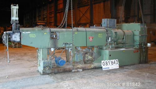 """Used- Prodex Torquemaster 6"""" Single Screw Extruder, Model TKM60D340-24. 24 To 1 L/D ratio. 5 Zone electrically heated, water..."""