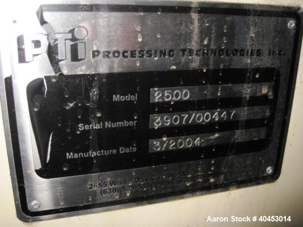 "Used- PTI model 2500 Trident 2-1/2"""