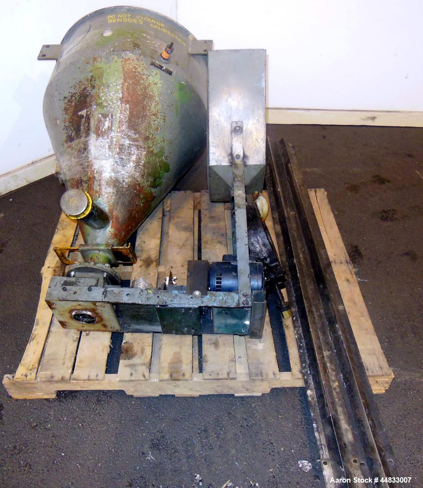 "Used- Sterling Extruder Corp. 3-1/2"" Single Screw Lowboy Extruder. Approximately 30 to 1 L/D ratio. Electrically heated, wat..."