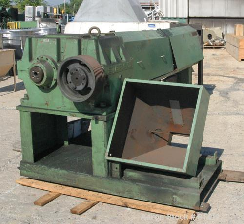 """USED: Sterling 4-1/2"""" single screw extruder, 30:1 L/D ratio. Electrically heated, water cooled (no system). 5 zone vented ba..."""