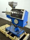 Used- Betol Machinery 25mm (0.98'') Single Screw Co-Extruder, Model 2520J, Serial# A5335. Approximate 24 to 1 L/D ratio. Ele...