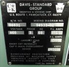 Used- Davis Standard 1-1/2