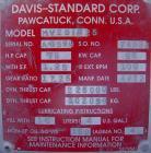 Used- Davis Standard 2 1/2