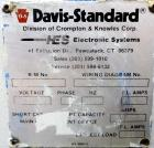 Used- Davis Standard Co-Extrusion Line