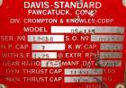 USED: Davis Standard 1.25