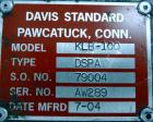 """Used- Davis Standard 1"""" Diameter Single Screw Extruder, Model KLB-100, Type DSPA. Approximate 28 to 1 L/D ratio. Electricall..."""