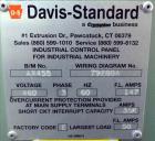 Used- Davis Standard 2