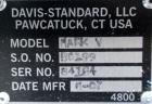 Used- Davis Standard 3-1/2