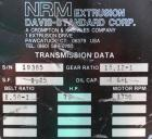 Used- Davis Standard-NRM  3-1/2