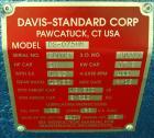 Used-Davis Standard 3/4