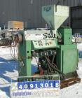 Used- Single Screw Extruder, approximate 2