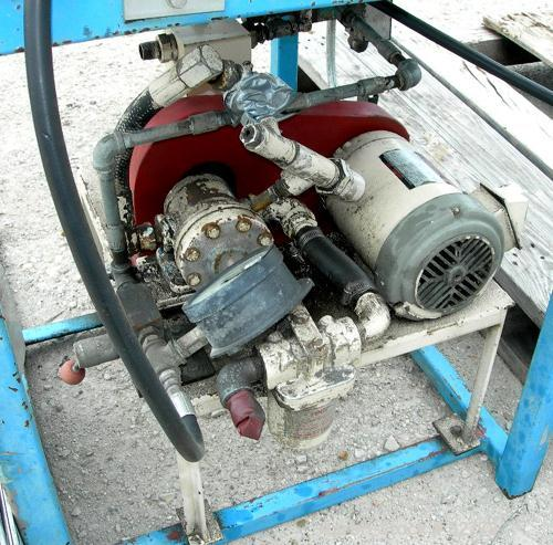 """USED: Union Carbide single screw extruder system consisting of (1) Union Carbide approximate 3"""" extruder, 304 stainless stee..."""