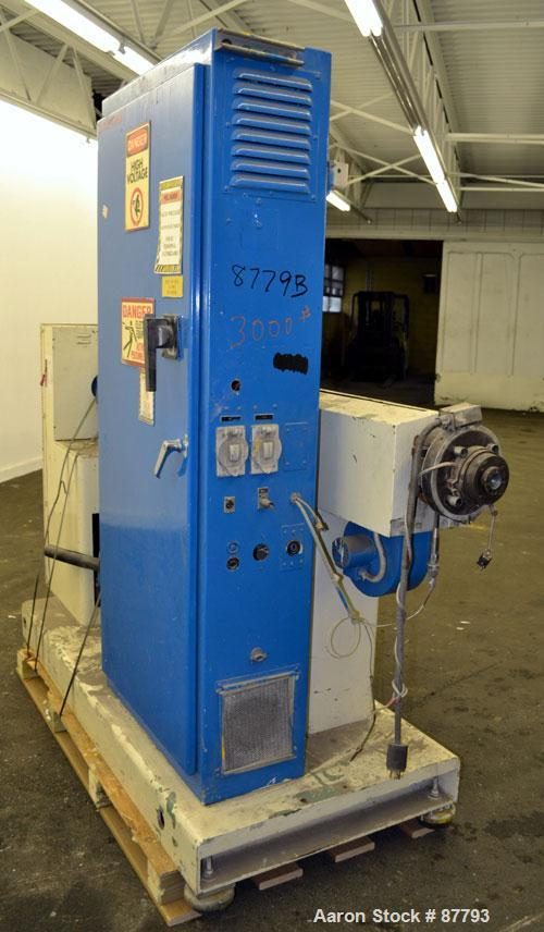 "Used- Welex 2"" Single Screw Extruder, Model 2-024:1 RHNV"