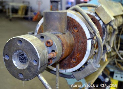 "Used- Welex 2"" Diameter Single Screw Co-Extruder, Model 200-24:1-CCE4"