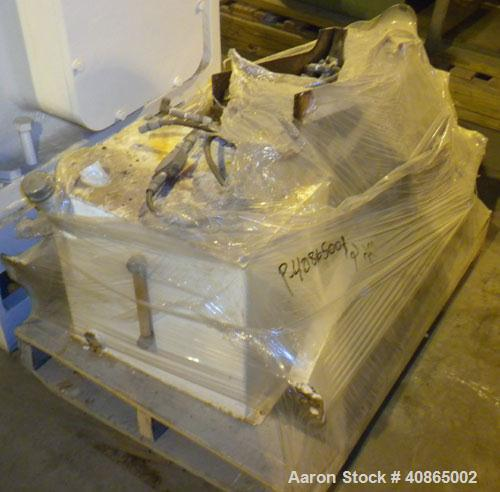 """Used- Welex 3-1/2"""" Single Screw Extruder, Model 35VA. Approximate 30:1 L/D ratio, 5 zone non-vented barrel, electrically hea..."""