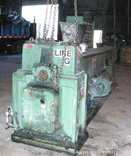 "Used- Welex 4.5"" Single Screw Extruder, Model 450 36:1 LHSV"