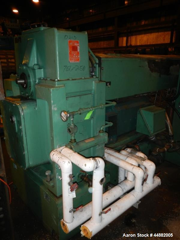 "Used- Welex 4.5"" Single Screw Extruder"