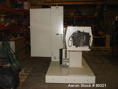 """Used- Wilmington-Sterling 6"""" Single Screw Extruder, Model 6-1/2, Approximate 30:1 L/D ratio. Electrically heated, water cool..."""