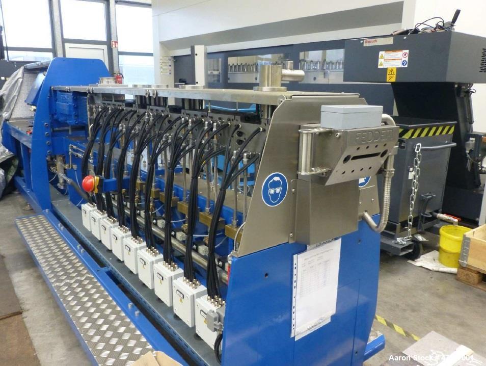 Unused- Feddem Extruder FED 52 MTS L/D 39. Screw diameter 52 mm, drive power 210 Kw, max speed 1200 rpm, 800 kg/H. Depending...