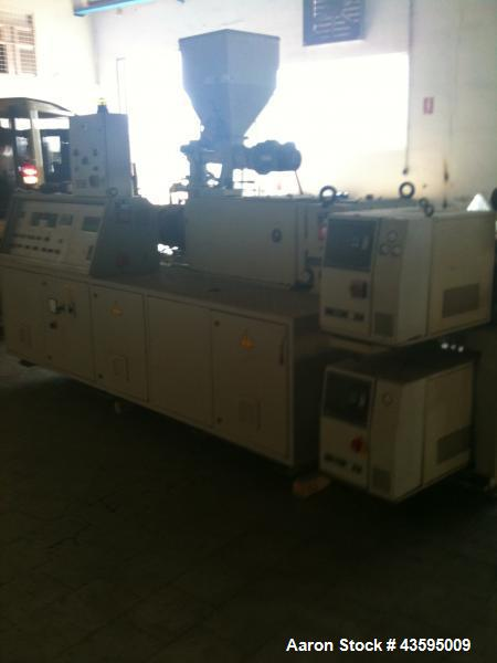Used-Amut EKBA-59 Twin Screw Extruder