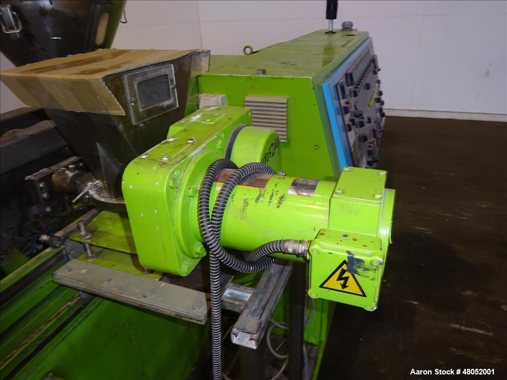 Used- APV Baker LTD Twin Screw Extruder, Model MP 2040 TC.
