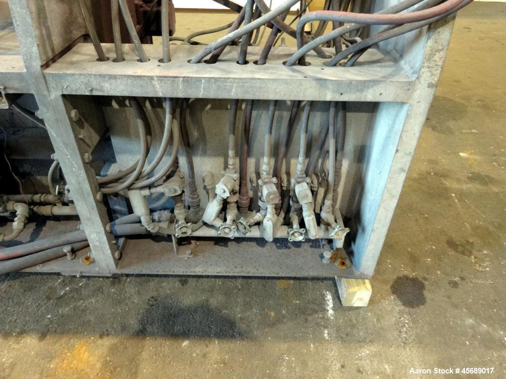 Used- B&P Process Equipment MP Series 80 mm Twin Screw Compounder Extruder, Mode