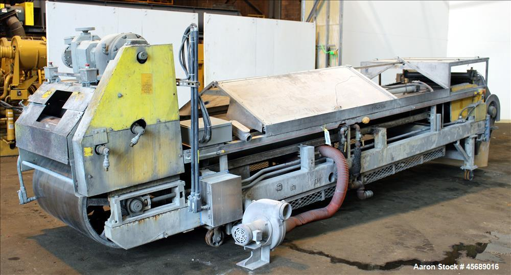 Used- B&P Process Equipment MP Series 50mm Twin Screw Compounder Extruder, Model