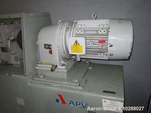 Used-APV Baker Perkins Twin Screw Extruder CP1100