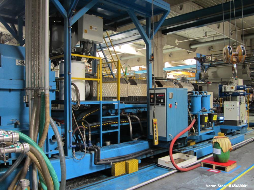 Used- Bandera Co-Rotating Twin Screw Extruder
