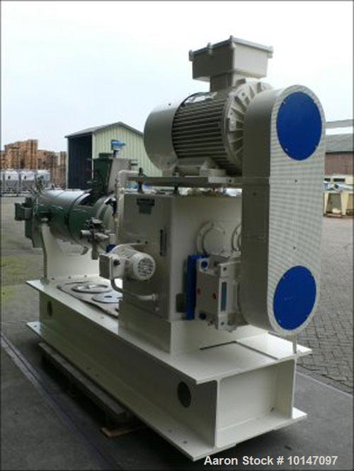 Used-Berstorff ZE-130R twin-screw extruder