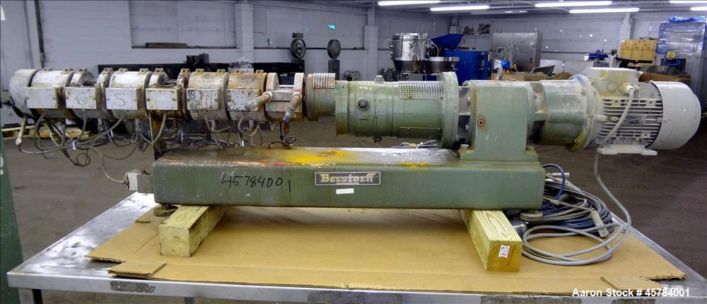 Used- Berstoff ZE 25 Lab Size Twin Screw Extrusion Line