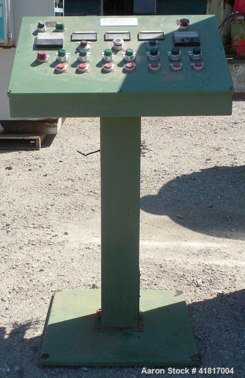 Used- Berstorff 40mm twin screw extruder, model ZE40/40A