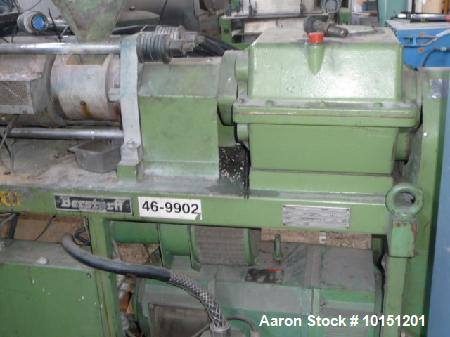Used- 40mm Berstorff Model ZE40, 35/1 L/D, Co-Rotating Twin Screw Extruder. New in 1988. Serial #22-E71.00, E.O. # 3491/88, ...