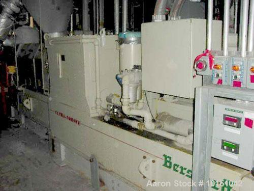 Used-Berstorff Model ZE90AX31DUT Ultra Torque Co-Rotating Twin Screw Extruder having two 97mm diameter intermeshing screws w...
