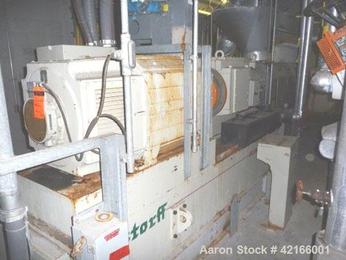 Used- Berstorff Model ZE90AX31DUT Ultra Torque Co-Rotating Twin Screw Extruder having two 97mm diameter intermeshing screws ...