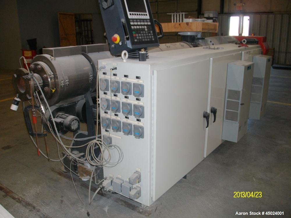 Used-Cincinnati Milacron Twin Screw Extruder, Model 93R