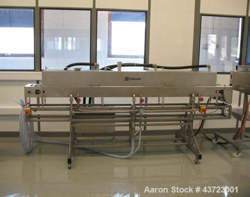 "Used- Dr. Collin ZK-25 Medical Extrusion Line comprised of: (1) Collin ZK-25 twin screw extruder, co-rotating, 0.98"" (25mm) ..."