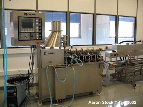 Used-Dr. Collin ZK-25 Medical Extrusion Line