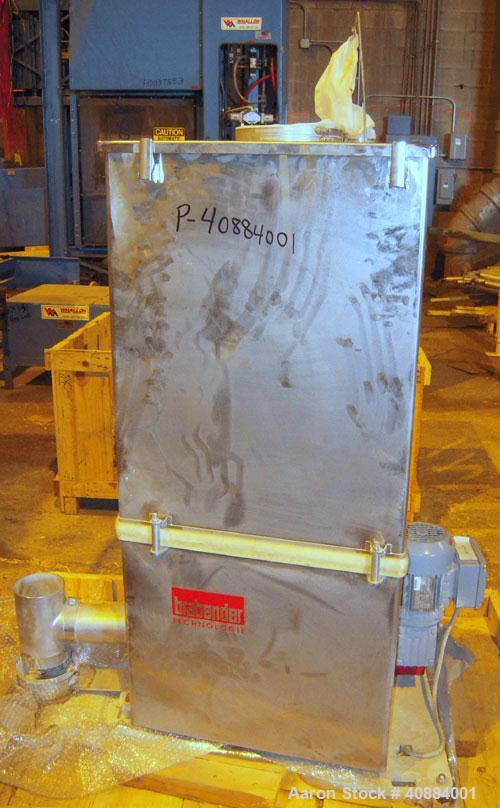 Used- Entek 73 mm Co-Rotating Twin Screw Extruder, Model E-MAX 73MM 48L/D, 48 to 1 L/D ratio. (11) Barrel sections electrica...